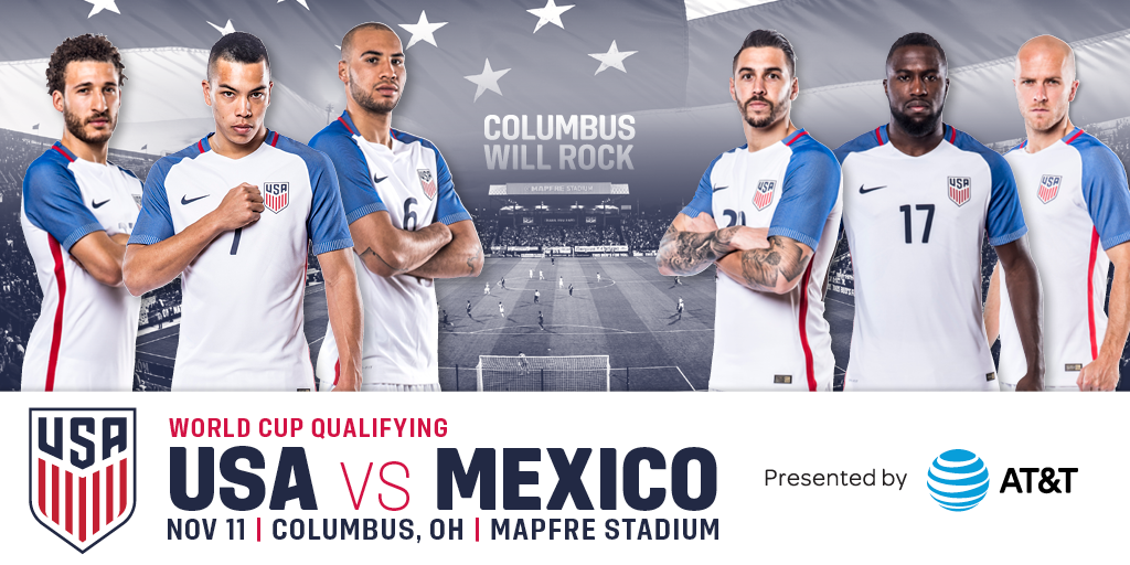 USA vs Mexico November 11th